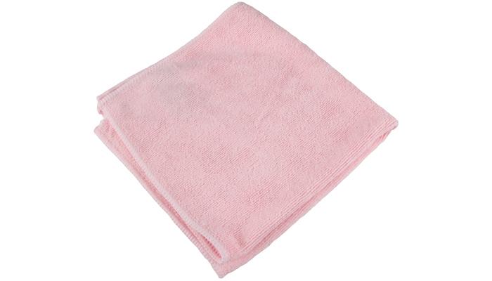 Mikrofiberklut rosa 1